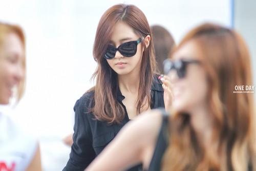 Yuri @ Incheon Airport