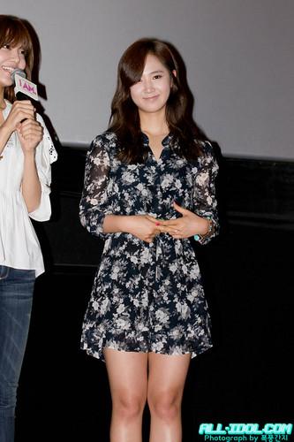 Yuri - Stage Greeting @ I AM Movie