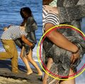 alfredo , &, selena, on, the, beach - selena-gomez photo