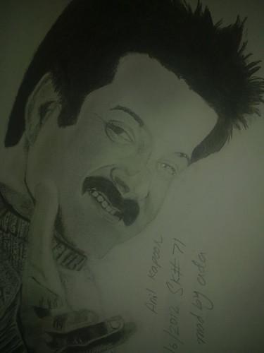anil kapoor 's sketch