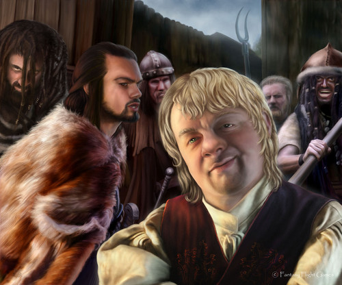 Tyrion Lannister & the Mountain clans