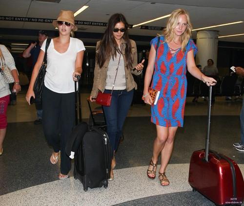 at LAX Airport - 6 July