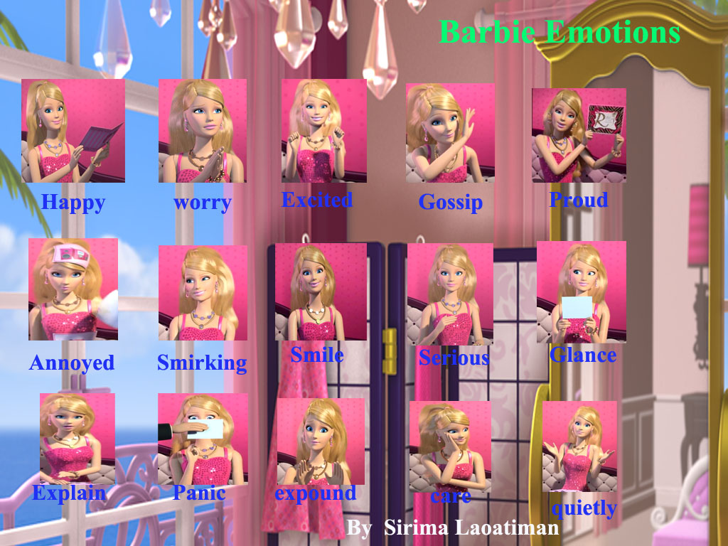 Barbie Movies Images Barbie Emotions Hd Wallpaper And Background