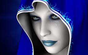 blue  - fantasy Photo