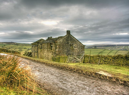 Period Drama fãs wallpaper titled Haworth Moor The Inspiration Behind Emily Bronte's Wuthering Heights