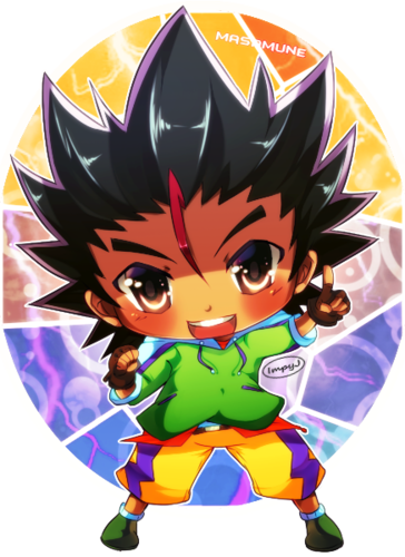 beyblade Metal Fusion wallpaper entitled chibi masamune