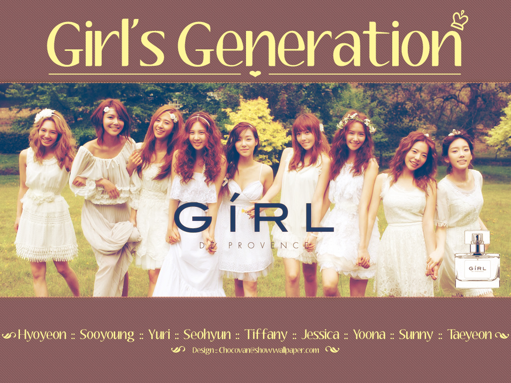 "Girls' Generation ""GiRL de Provence"""