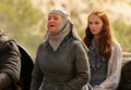 Sansa Stark & Septa Mordane - game-of-thrones photo