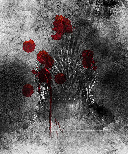 Iron throne game of thrones fan art 31338877 fanpop for Iron throne painting