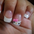 hello kitty nails - hello-kitty photo