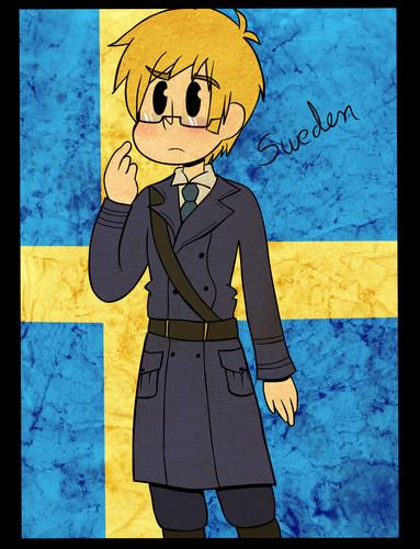 हेतालिया sweden