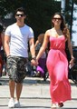 jonas family outing plus Joe's girlfriend - nick-jonas photo