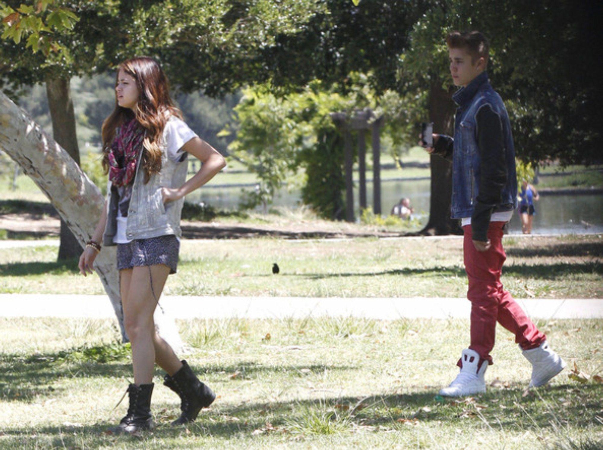 Selena Gomez Justin Bieber 2012