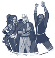 kya ,tenzin and bumi - avatar-the-legend-of-korra photo