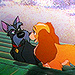 lady & the tramp icons - lady-and-tramp icon