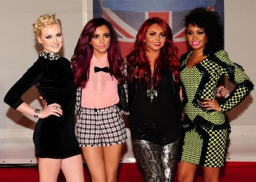 little mix at the brit awards