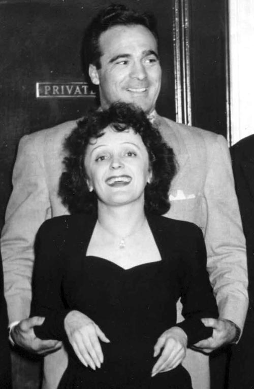 marcel cerdan and edith piaf - Celebrities who died young