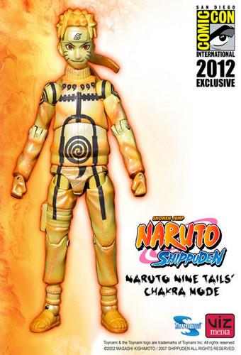 Naruto nine tailes chakra mode
