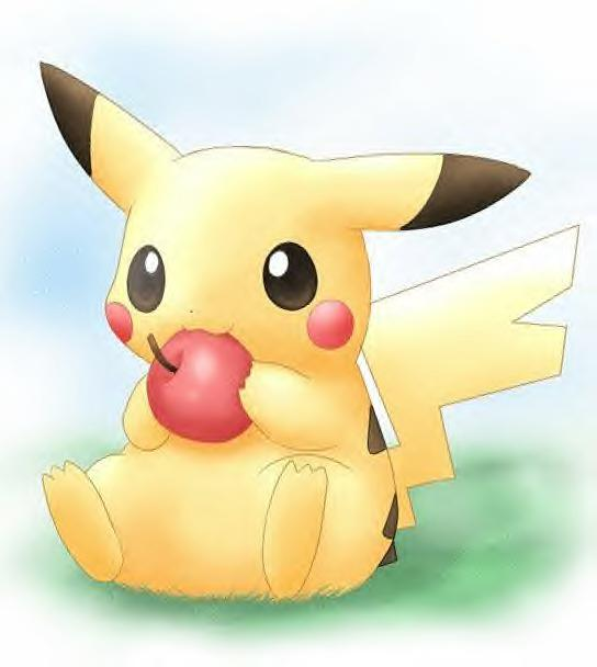 cute pikachu Pokemon