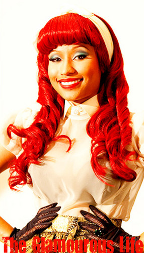 Onika Tanya Maraj a.k.a Nicki Minaj images red hair barbie wallpaper and background photos