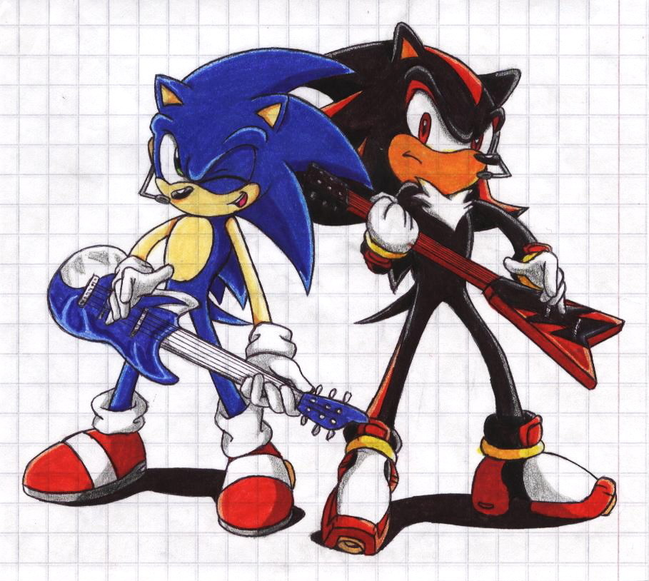 shadow and sonic - Sonic and Shadow Photo (31399818) - Fanpop