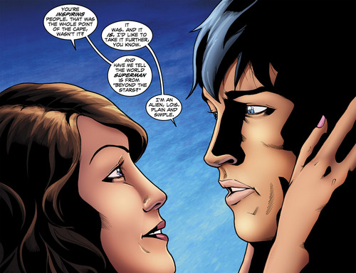 Smallville wallpaper containing anime called smallville season 11 comics