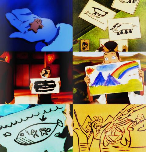 sokka's art
