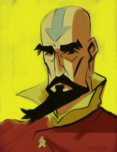tenzin by bryan konietzko - avatar-the-legend-of-korra Fan Art