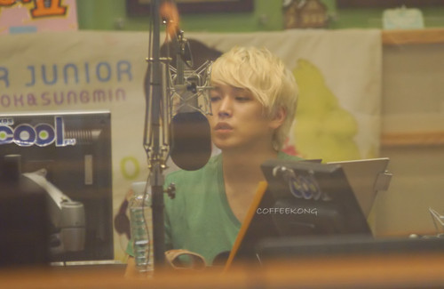 120712 吻乐队(Kiss) The Radio - Sungmin