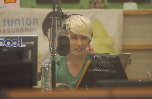 120712 halik The Radio - Sungmin