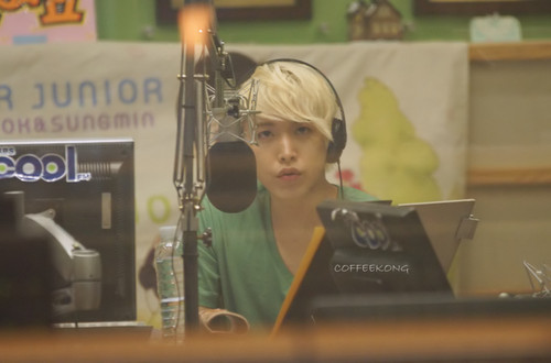 120712 Kiss The Radio - Sungmin  - super-junior Photo
