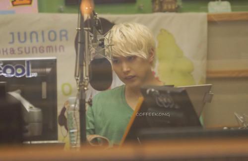 120712 kiss The Radio - Sungmin