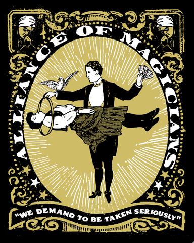 """""""Alliance of Magicians"""" door Nate Duval"""