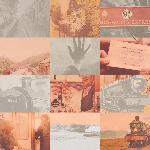 """""""Always a way home"""" Harry Potter Meme → Three Colors: [Pink for Hogwarts Express]"""
