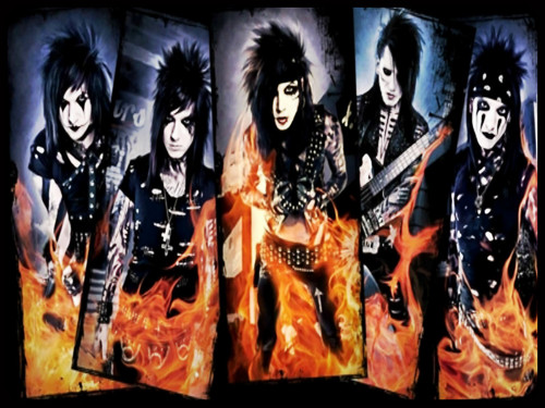 Rakshasa & Friends Hintergrund possibly with a sign and Anime called ☆ BVB ★