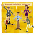 """Bluth Family Chicken Dance"" by Ian Glaubinger - arrested-development fan art"