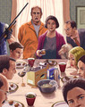 """Bluth Thanksgiving"" by Cuyler Smith - arrested-development fan art"
