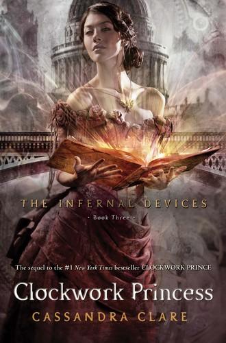 'Clockwork Princess' official book cover