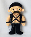 """Dad Likes Leather"" Doll by Michelle Coffee - arrested-development fan art"