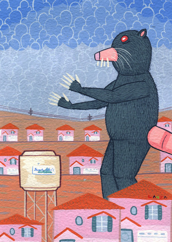 """Destruction of Sudden Hill: The Mole"" Von Gabe Lanza"