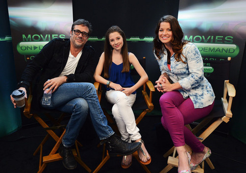 """Hunger Games"" Tributes Visit The 영화 On Demand Lounge At Comic Con"