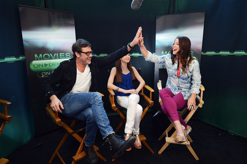 """Hunger Games"" Tributes Visit The sinema On Demand Lounge At Comic Con"