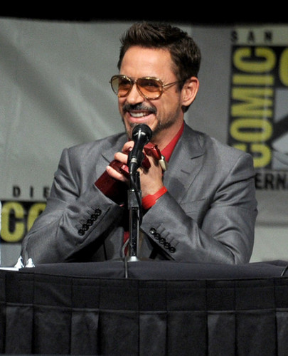 """Iron Man 3"" Panel - Comic-Con International 2012 - robert-downey-jr Photo"