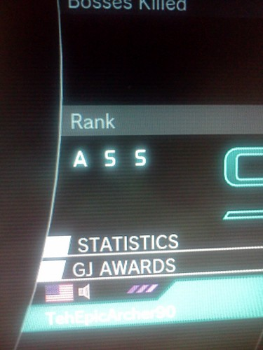 (Just for the LOLs)This is what I get for being pro at Lost Planet 2™