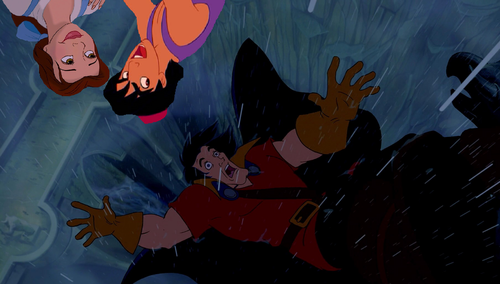 """See anda in Hell, Gaston!"""