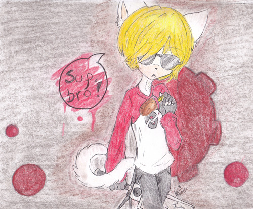 ~Sup Bro?~ Dave Strider The Cat
