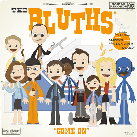 "Arrested Development wallpaper titled ""The Bluths - Come On"" by Joey Spiotto"