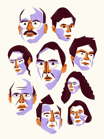 """The Bluths"" by Matt Chase"