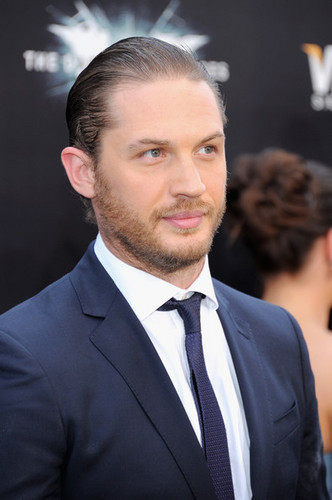 """The Dark Knight Rises"" New York Premiere - Inside Arrivals - tom-hardy Photo"