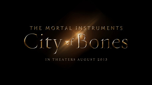 'The Mortal Instruments: City of Bones' official título treatment (HQ)